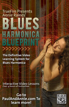 Annie Raines' Blues Harmonica Blueprint